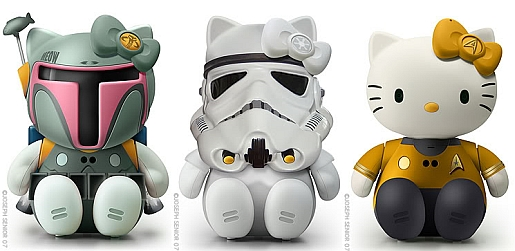 Hello-Kitty-Star-Wars-Star-Trek-Joseph-Senior